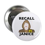 """2.25"""" Button (10 pack): Recall Janice"""