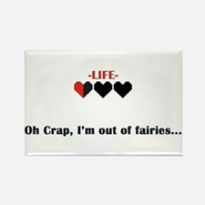 Out of Fairies Rectangle Magnet