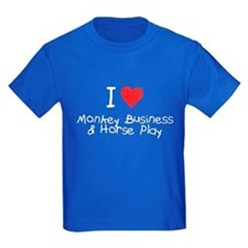 Monkey Business Horse Play T