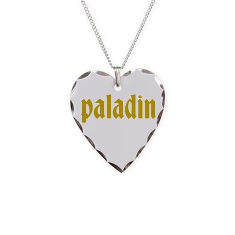 Paladin Necklace Heart Charm