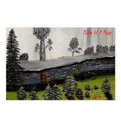 Reflecting Creek Postcards (Package of 8)
