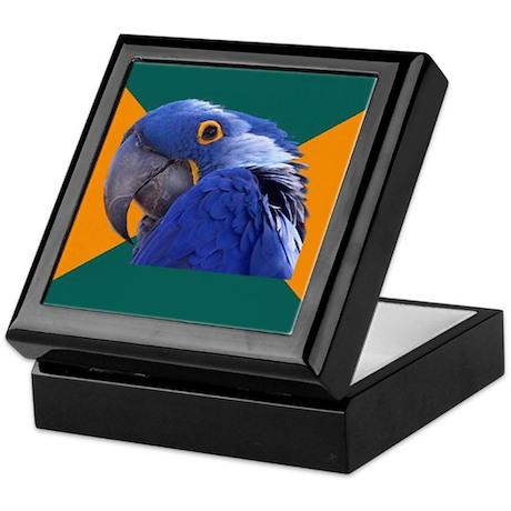 Paranoid Parrot Keepsake Box