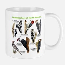 Woodpeckers of North America Small Mugs
