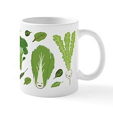 Go Green! Happy Vegetables Mug