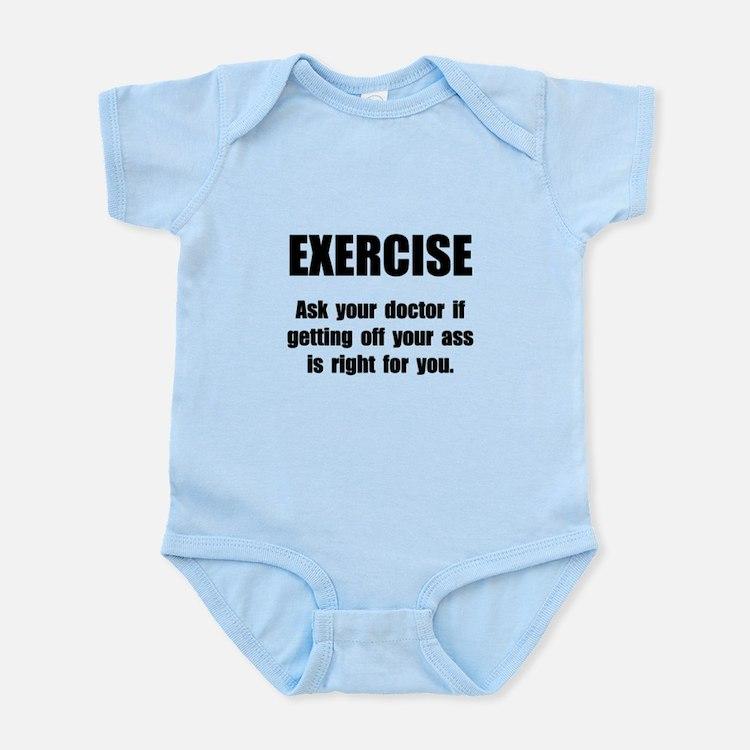 Exercise Doctor Infant Bodysuit