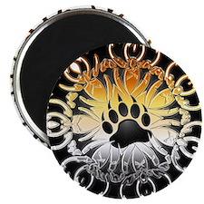 Tribal Bear Pride Paw Magnet