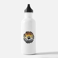 Tribal Bear Pride Paw Water Bottle