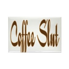 Coffee Slut Rectangle Magnet (10 pack)