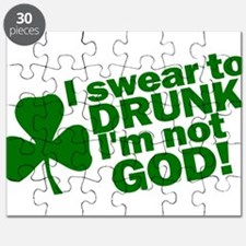 I Swear To Drunk I'm Not God Puzzle
