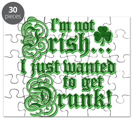 I'm Not Irish I Just Wanted T Puzzle