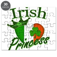 Irish Princess St Pattys Day Puzzle