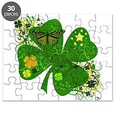 Irish Lucky Charm Clover Puzzle