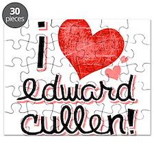 I Love Edward Cullen Puzzle