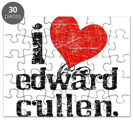 I Heart Edward Cullen Puzzle
