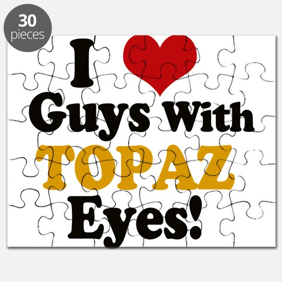 Guys With Topaz Eyes Puzzle
