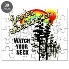 Forks Watch Your Neck Puzzle