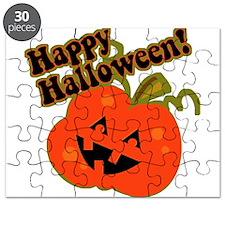 Funny Halloween Pumpkin Puzzle