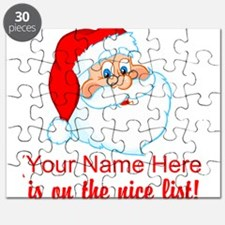 Personalized Nice List Puzzle