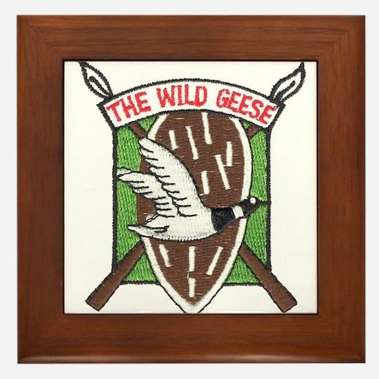 Wild Geese Framed Tile