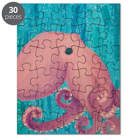 Octopus Art Puzzle
