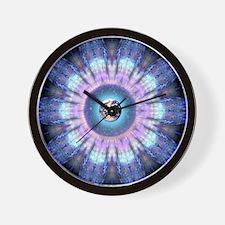 Earth Flower Mandala Clock