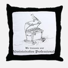Treasure Administrative Pros Throw Pillow