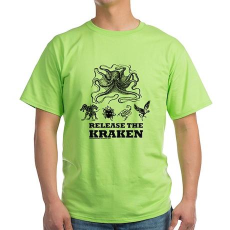 kraken and mythological beasts T-Shirt