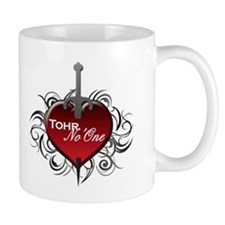 Tribal Heart Mug - Tohr and No'One