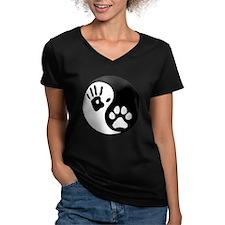 Human & Dog Yin Yang Shirt