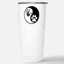 Human & Dog Yin Yang Thermos Mug