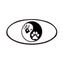 Human & Dog Yin Yang Patches