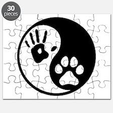 Human & Dog Yin Yang Puzzle