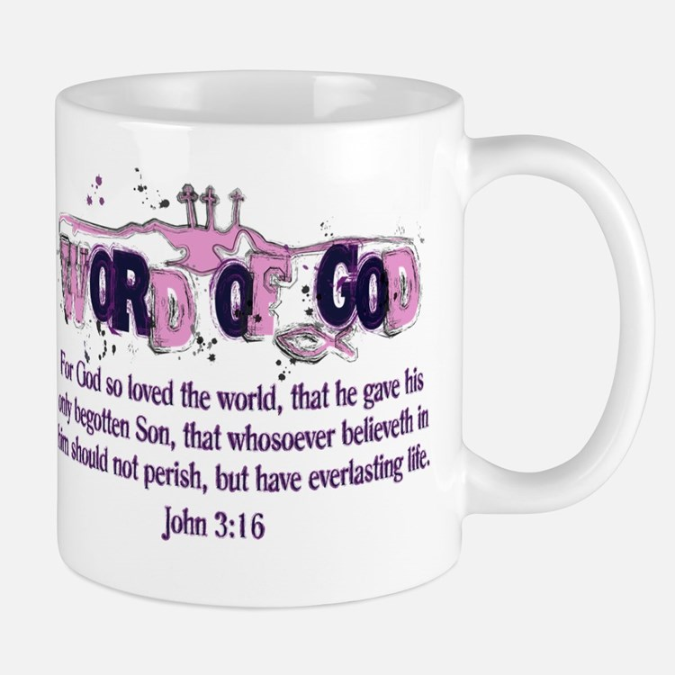 Word of God - John 3:16 Mug