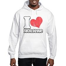 I Love (Heart) Moliere Jumper Hoody