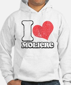 I Love (Heart) Moliere Jumper Hoody