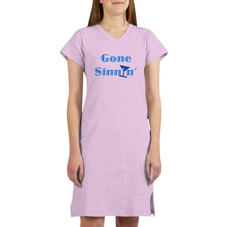 Gone Sinnin' Women's Nightshirt