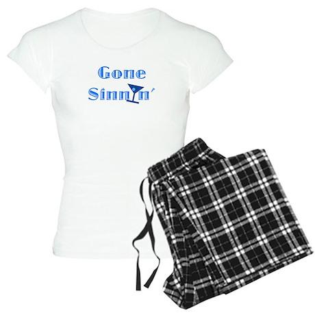 Gone Sinnin' Women's Light Pajamas