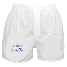Gone Sinnin' Boxer Shorts