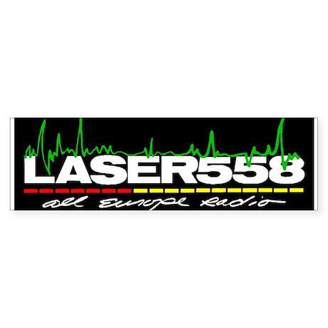 Laser 558 Bumper Sticker Bumper Sticker