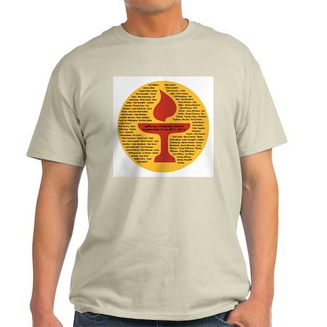 JUC Leadership T-shirt 2012 Men's Ash Grey T-Shirt