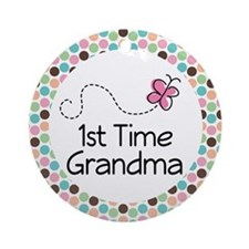 1st Time Grandma Ornament Gift