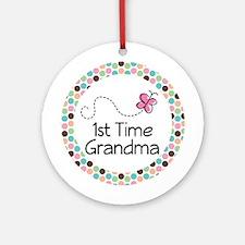 1st Time Grandma Ornament Gift