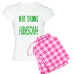 Not Drunk Awesome(green) Women's Light Pajamas