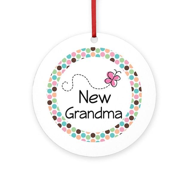 New Grandma Ornament Gift Keepsake By Mainstreetshirt