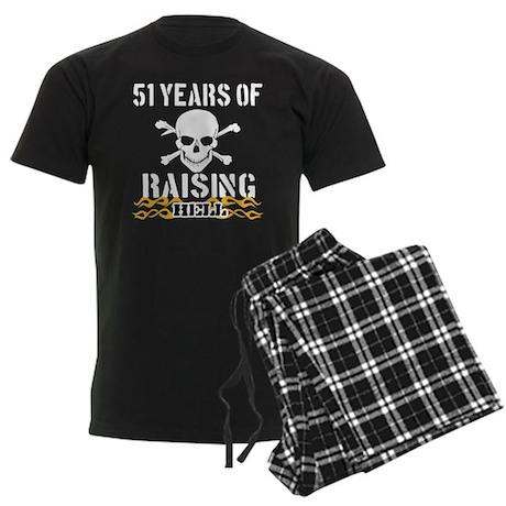 51 years of raising hell Men's Dark Pajamas