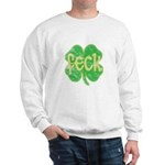 feck shamrock (faded) Sweatshirt
