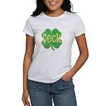 feck shamrock (faded) Women's T-Shirt