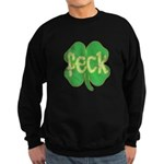 feck shamrock (faded) Sweatshirt (dark)