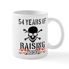 54 years of raising hell Mug