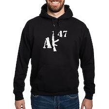 AK 47 (white) Hoodie